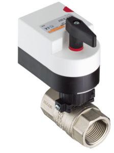 Двухходовой водяной клапан с приводом.