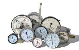 Измерительная арматура: манометры и термометры