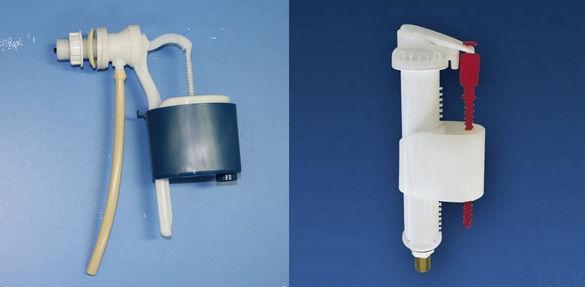Поплавки для нижнего и бокового подключения.