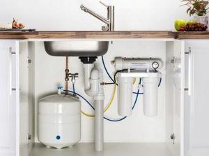 Фильтр для воды под мойку.