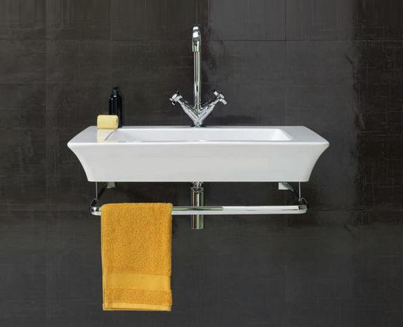 Подвесная раковина для ванной.