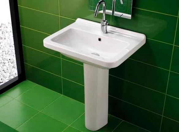 Раковина тюльпан для ванной.