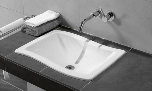 Встраиваемые раковины для ванной.