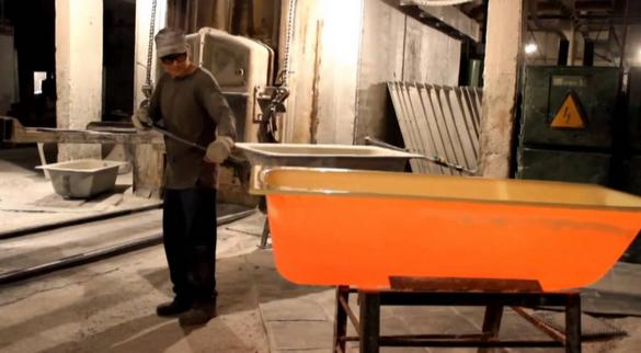 Эмалировка ванн на производстве