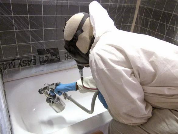 Эмалировка ванны профессионалами