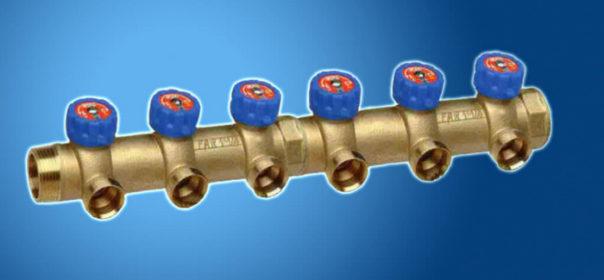 Коллектор системы водоснабжения.