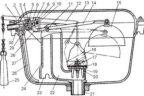 Устройство сливного бачка: механизмы и регулировка